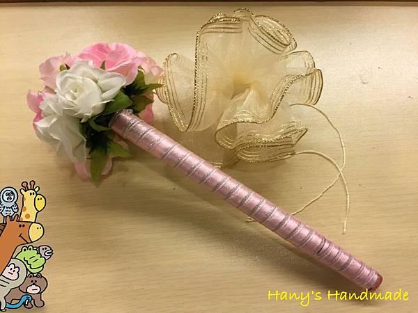 [婚禮小物]--浪漫風玫瑰花球簽名筆 022.jpg
