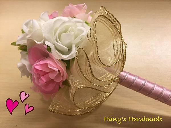 [婚禮小物]--浪漫風玫瑰花球簽名筆 023.jpg
