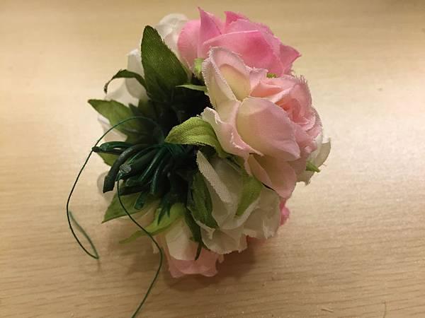 [婚禮小物]--浪漫玫瑰花球簽名筆.JPG
