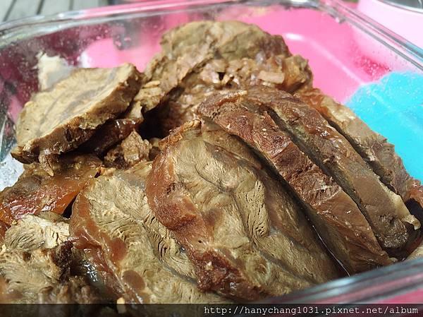 蔥燒滷牛肉
