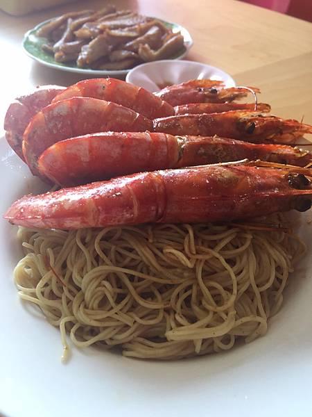 鴻運當頭之天使紅蝦蝦子麵