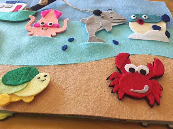 有好多海洋生物呀!!