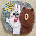 熊大與兔兔圖章