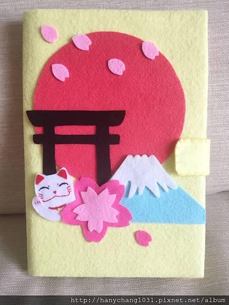 日式和風櫻花立體卡片