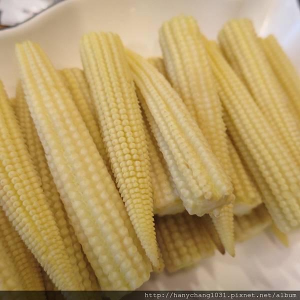 清燙玉米筍