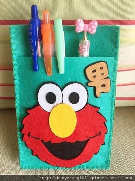 Elmo小護士筆袋
