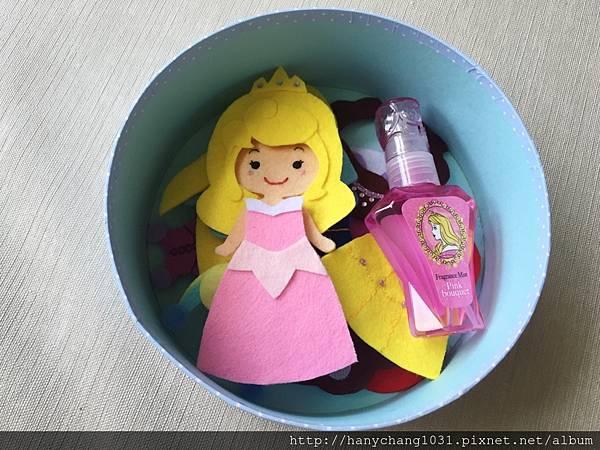 裡面有公主系列髮香水