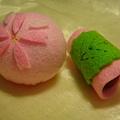 櫻麻糬+櫻花洋菓子