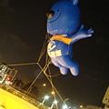 技擊館蛋型廣場空飄氣球