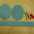 洋菓子--『金魚』製作材料