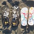 我們的沙灘拖鞋