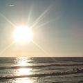 太陽快下山囉~~