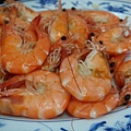 滿滿的鮮蝦