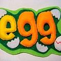 [不織布]--egg磁鐵