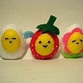 [不織布]--蛋蛋三姐妹