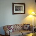 蜜月套房的客廳