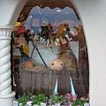 櫥窗也有萬聖節的佈置