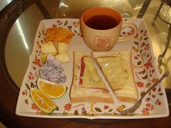 老闆親手做的愛心早餐