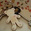 房間的KEY,每間的小熊顏色都不一樣