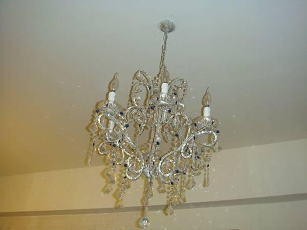 客廳的水晶燈