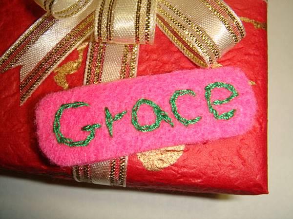 [小禮物包裝]--不織布的名牌