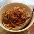 老東台米苔目--乾米苔目上滿滿的柴魚