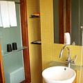簡單的浴室陳設
