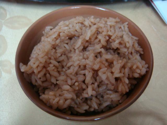 紅茶糙米飯