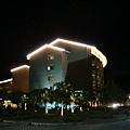 鹿鳴酒店夜景照