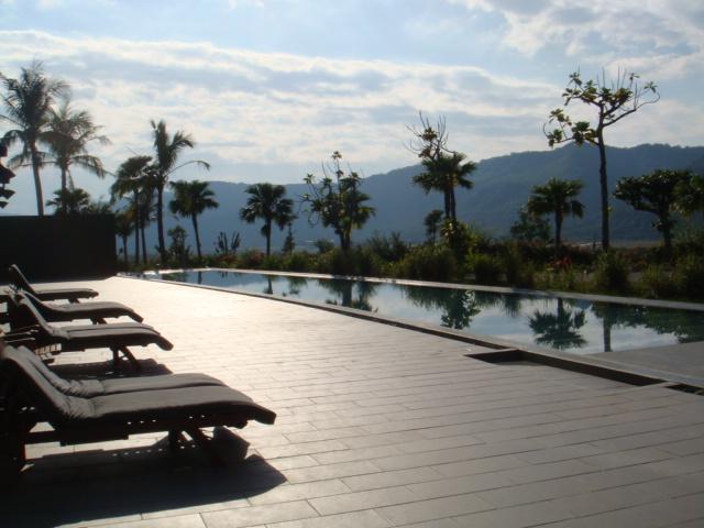 鹿鳴酒店的游泳池