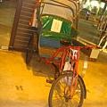 古老的三輪車
