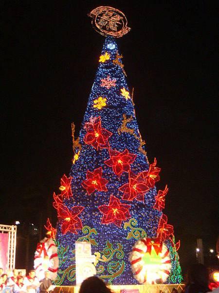 全台灣最大的聖誕樹