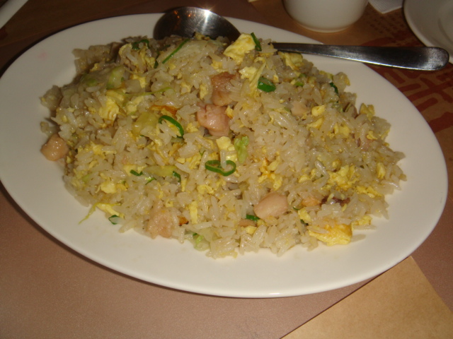 [糖朝]--鹹魚雞粒炒飯