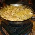 [鳳山頤和園酸菜白肉鍋]--滿滿地料