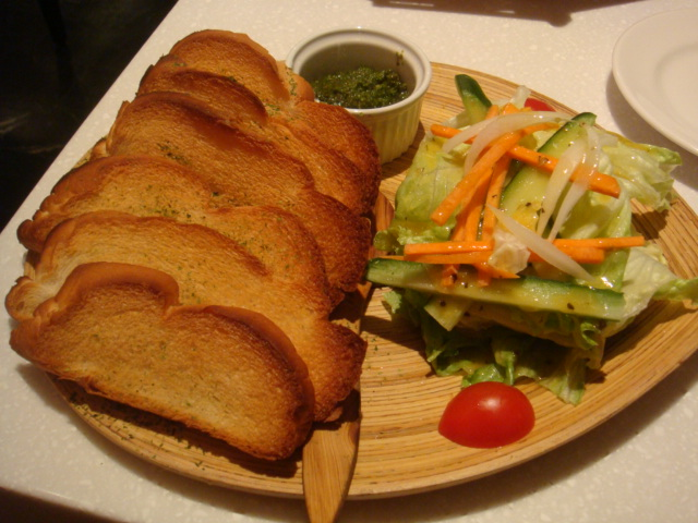 [MOJAVA]--青醬麵包