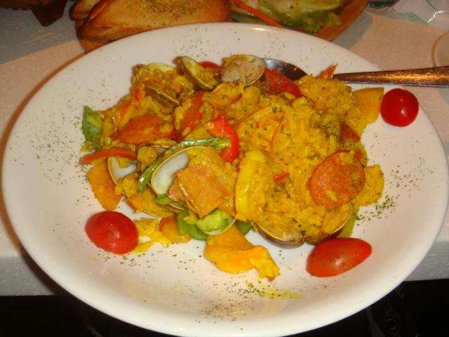 [MOJAVA]--西班牙海鮮燉飯