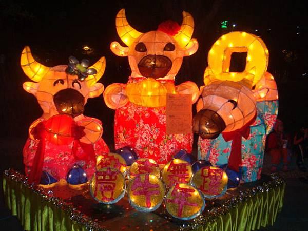 2009愛河燈會--大紅花花燈