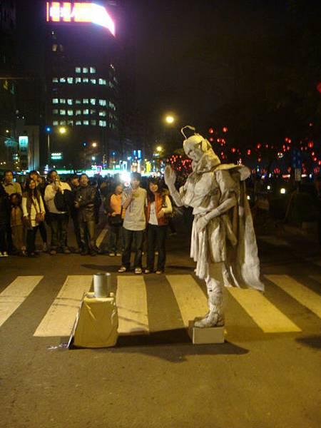 2009愛河燈會--街頭藝人表演