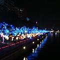 2009愛河燈會沿岸