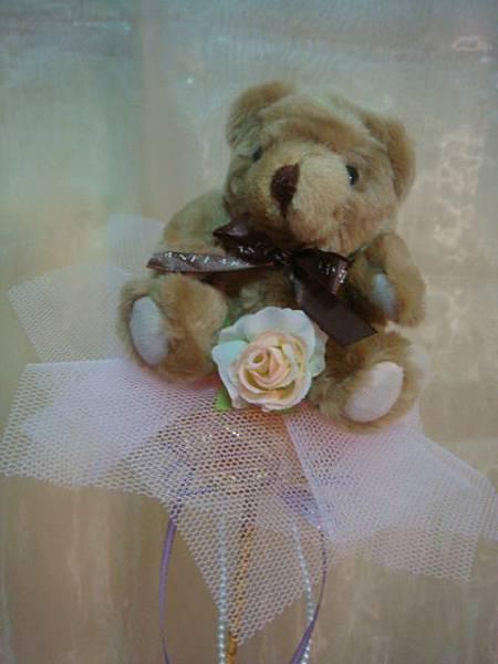 [小熊花束]--浪漫玫瑰花風