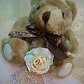 [小熊花束]--情人節就是要玫瑰花