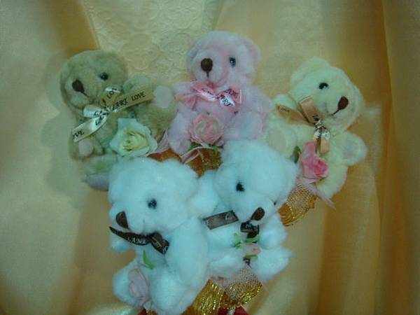 [小熊花束]--甜蜜熊五寶