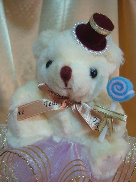 [小熊花束]--開心開心!!我有糖吃還有帽子戴