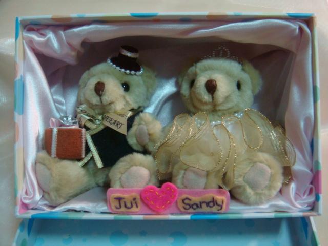 [婚禮小熊]--獻給我親愛的好友