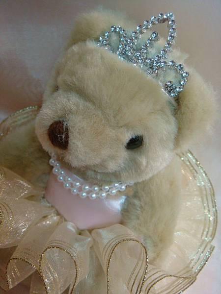 [婚禮小熊]--閃亮亮的皇冠
