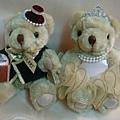 [婚禮小熊]--雙雙對對,萬年富貴啦!!