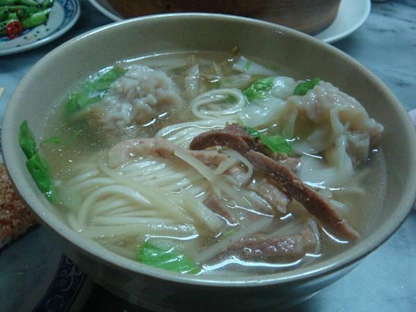[金記溫州餛飩]-餛飩湯麵