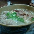 [金記溫州餛飩]-麵無味,湯很清