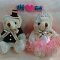 [婚禮小熊]--給蘇小胖的新婚賀禮