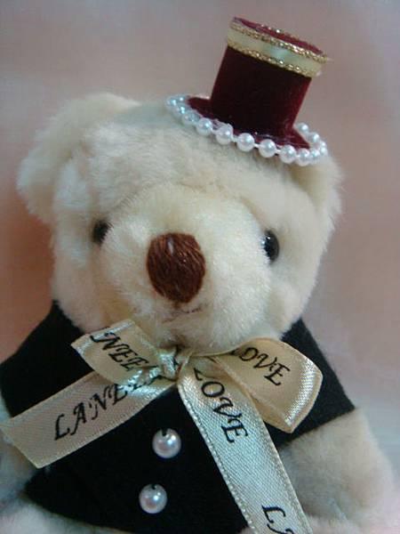 [婚禮小熊]--熊臉還是一樣可愛~~